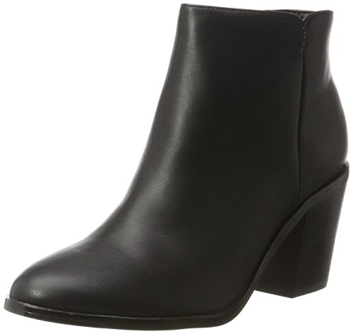 Pieces Pspera Boot, Botines Femme, Noir (Black), 41 EU