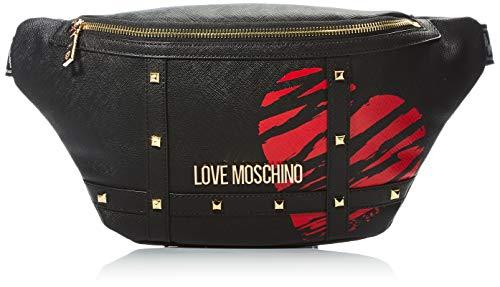 Love Moschino SS21, Cinturón para Mujer, Negro, Normal