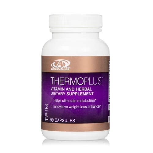 AdvoCare Thermoplus Vitamin and Herbal Dietary Supplement 90 Capsules