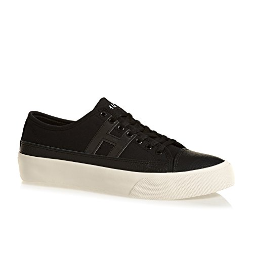 HUF Skate Shoes Hupper 2 Lo Shoes - Black/Cream