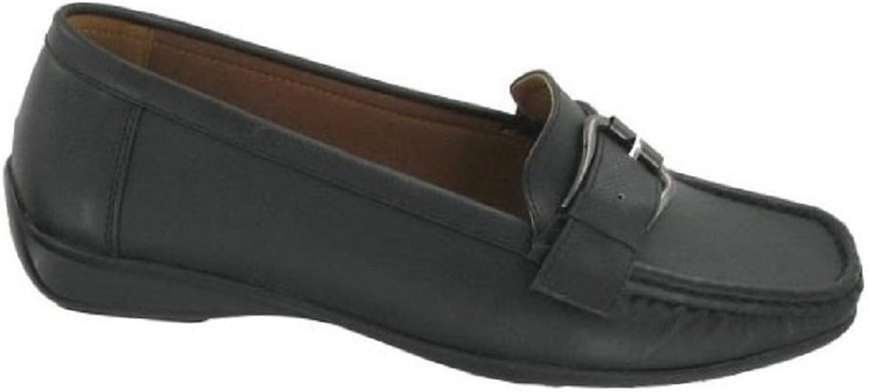 Pierre Dumas Women's Hazel Synthetic Patent Leather Loafer Flats