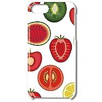 スマホ スマートフォン スマホハード型ケース フルーツパターン 【3056_フルーツいっぱい|iPhone SE [第2世代]】