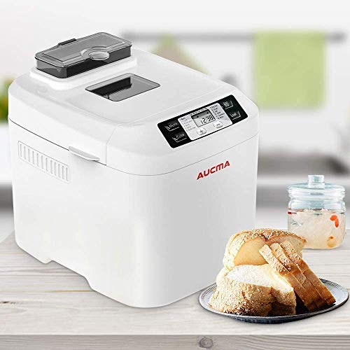 CattleBie Breadmakers, Automatic Fastbake Bread Maker with Gluten Free Menu, 2LB Large Capacity Environmental Health Energy Class A