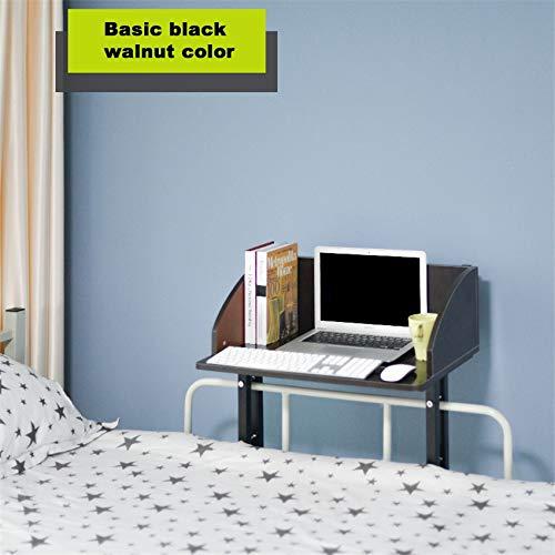 LXF JIAJU Inicio Informática Escritorio Estudiante Estudiante Economía Tipo Librería Escritorio Dormitorio Mesa Perezosa Simple Pequeño Estante (Color : Basic Section)