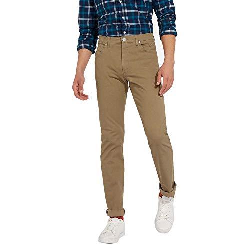 Wrangler Herren Arizona Straight Jeans, Beige (Mink), 30W/32L