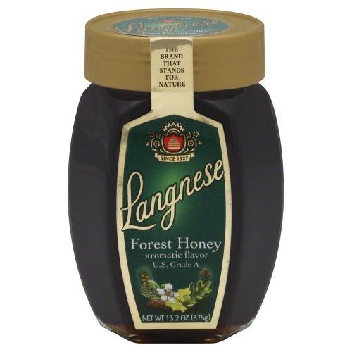Langnese Forest Honey Jar, 13.2 Ounce