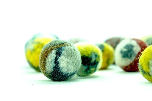 kivikis Cat Toy Wool Balle en laine faite à la main