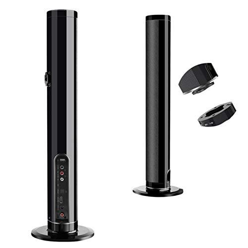 BBOPG Bluetooth detachable Soundbar 50W sans Fil stereo Subwoofer Haut Parleur TV Home Cinema TF FM USB Virtual Surround Barre de Son