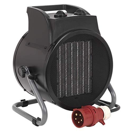 termoventilatore 5000w Sealey PEH5001industriale termoventilatore PTC 5000W 415V 3PH