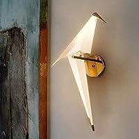 ブラケットライト, モダンな壁のスコンセライトモダンなミニマリストリビングルームのテーマレストランラウンジバー、創造的な鳥のデザインウォールランプ、暖かい19inch 、ガーデン用。 ヤード。021 (Color : Warm, Size : 19)