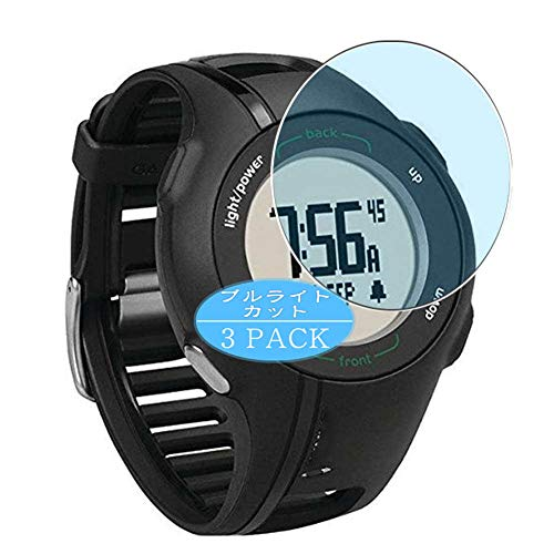 Vaxson 3 Stück Anti Blaulicht Schutzfolie, kompatibel mit Garmin Approach S1 smartwatch Smart Watch, Displayschutzfolie Bildschirmschutz [nicht Panzerglas] Anti Blue Light