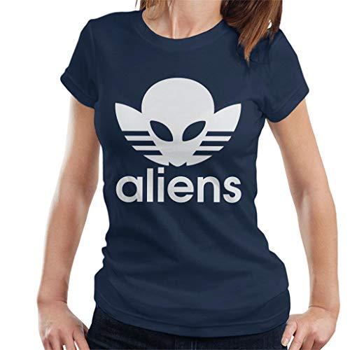 Cloud City 7 Aliens Mash Up Logo T-shirt