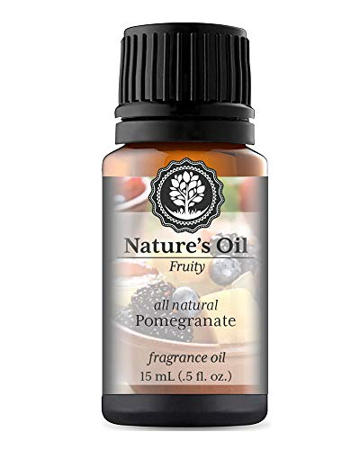 Pomegranate Fragrance Oil (15ml) For Diffusers, Soap Making, Candles, Lotion, Home Scents, Linen Spray, Bath Bombs, Slime