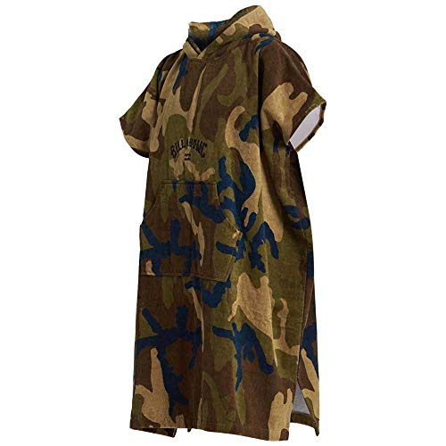 BILLABONG Wickel Robe Poncho oder Wechsel Robe Handtuch für Beach Watersports & Surfing - Navy
