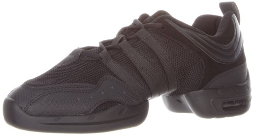 Sansha Tutto Nero Dance Sneaker,Black,9 Sansha (8 M US Women's)