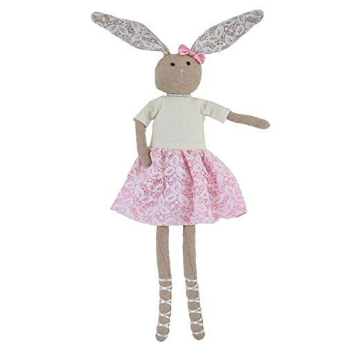 Peluche 55cm Coniglio Decorazione per Feste Pasquali Simpatico Coniglietto di Pasqua Morbido Peluche Coniglio Giocattolo di Animali Farciti Coniglio Giocattolo Regalo di Bambole Farcite