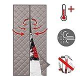 WISKEO Cortina Termica Magnetica Aislante Frio Y Calor Térmica ProteccióN...
