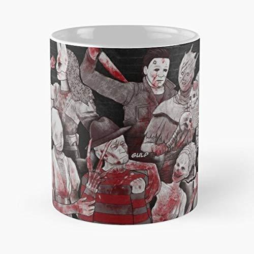 by Horror Dbd Dead Daylight Best 11 oz Kaffeebecher - Nespresso Tassen Kaffee Motive