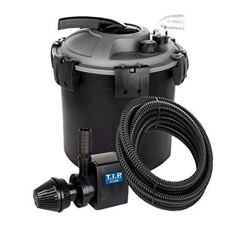 T.I.P. TFP 8000 UV 9 Teichdruckfilter, schwarz