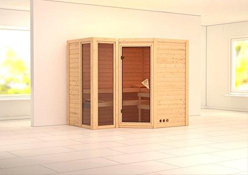 KARIBU Sauna »Amara«,