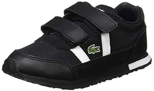 Lacoste Jungen Unisex Kinder Partner 0120 1 Sui Sneaker, Blk Wht, 25 EU