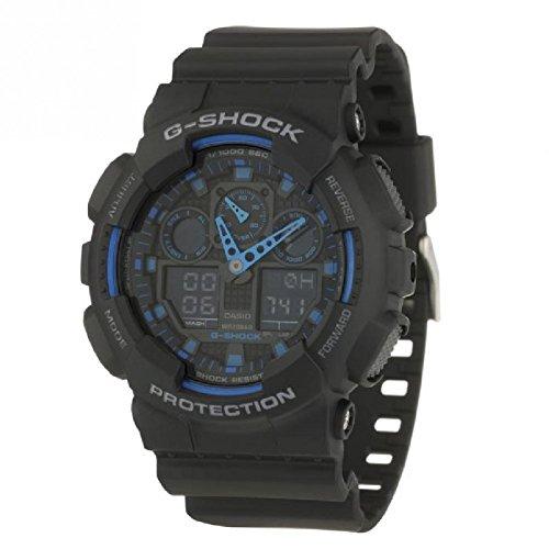 Casio G-Shock Original GA-100-1A2ER Cronógrafo para Hombres