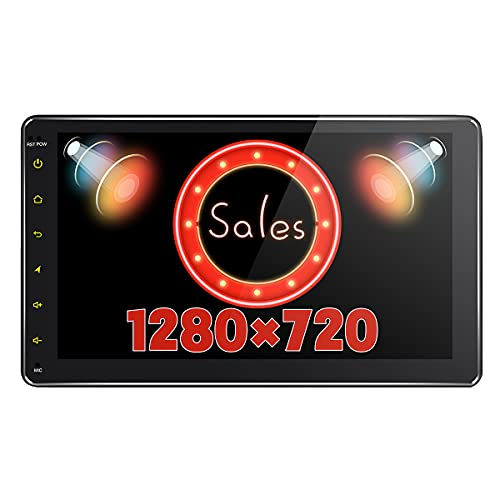 JOYFORWA Android 8.1 4GB + 64GB 9 pollici singolo Din Stereo auto Stereo integrato DSP LCD Touchscreen con 4G SIM Card Slot & 1280×720P Reslution - Supprot Android Auto DSP SPDIF SPDIF Fast Boot WiFi