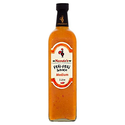 Nandos Peri-Peri Sauce Medium 1 Liter (Packung mit 6 x 1ltr)