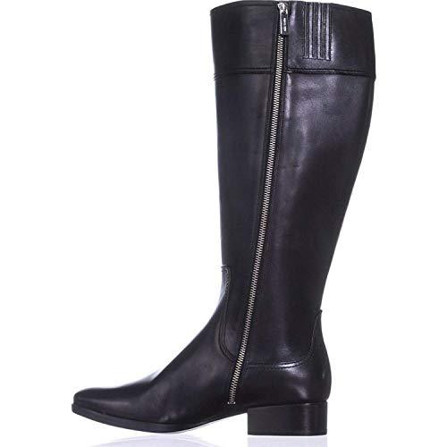 Michael Michael Kors Frauen Harland Boot Pumps Rund Leder Fashion Stiefel Schwarz Groesse 5.5 US /36 EU
