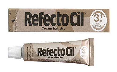 RefectoCil 3.1 – Crema de color marrón claro para el cabello –...