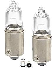 2x St. CLEAR H10W BA9s 12V 10Watt gloeilampen gloeilamp halogeenlampen 9mm metalen bajonetfitting binnenverlichting, parkeerlampen voor ringen Angel Eyes - Hallenwerk