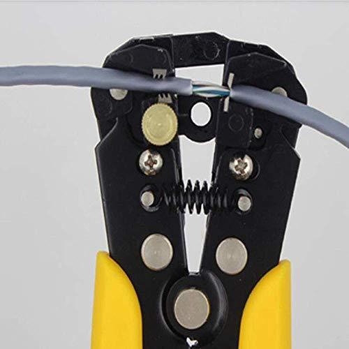 GENFALIN Adecuado for la reparación local, es decir, al aire libre de mantenimiento industrial multi-función automática de desmontaje del Nuevo Juego de alicates (Color: Negro Amarillo)