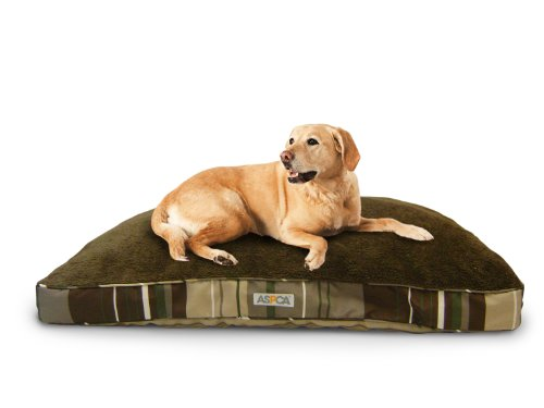ASPCA Reversible Striped Gusseted Dog Pillow