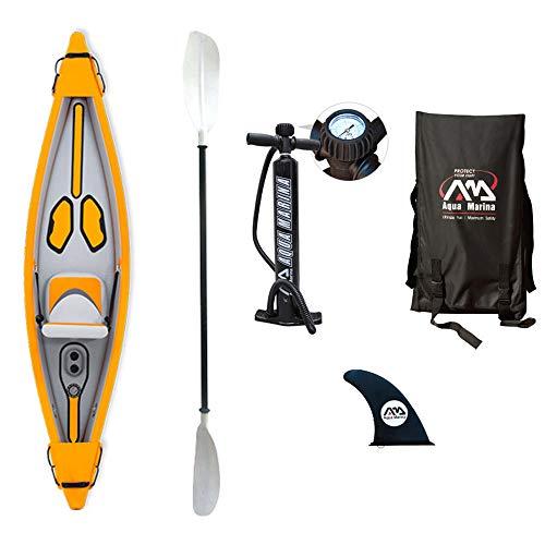 Aqua Marina hinchable Kayak Tomahawk-2018-para 1persona 10'8' x 28'