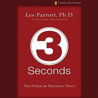 3 Seconds audiobook cover art