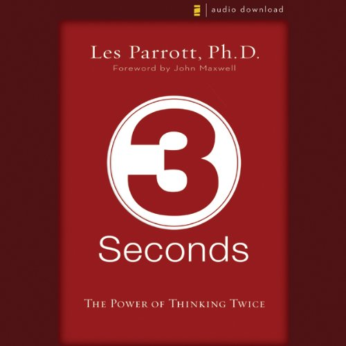 3 Seconds audiobook cover art