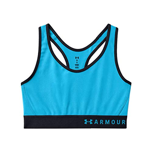 Under Armour Damen Sport BH Sport-BH ArmourMid, Equator Blue/Blue Topaz (417), MD, 1307196-417