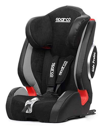 SPARCO F1000KIG123GR Siège Enfant Noir