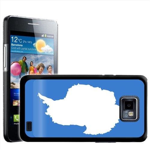 Fancy Een Snuggle Antarctica Vlag Ontwerp Hard Case Clip Op Achterzijde Cover voor Samsung Galaxy S2 i9100