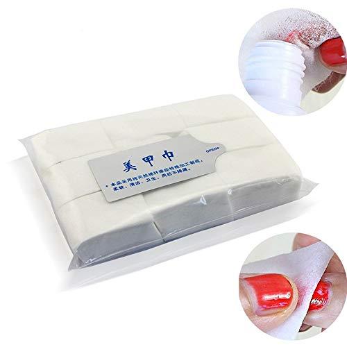 MoonyLI 900 pièces jetables Maquillage démaquillant Coton Pad Ongles essuyer Coton tampons, Non réutilisable pour enlever Le Maquillage des Yeux, Vernis à Ongles et Produits de Soins de la Peau