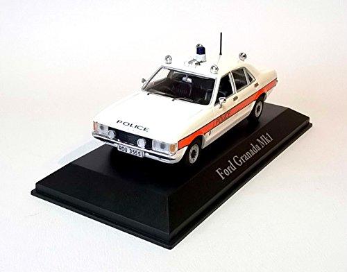 FORD GRANADA MK1 CAR MODEL AVON & SOMERSET POLICE 1:43 SCALE CORGI ATLAS T3Z
