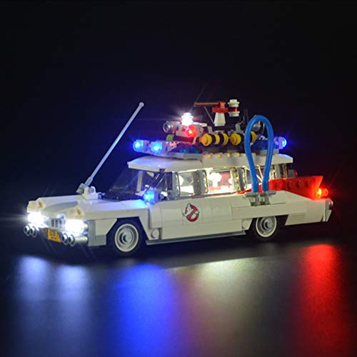 Led Beleuchtungsset Für Ghostbusters Ecto-1, Kompatibel Mit Lego 21108 Bausteinen Modell - (Modell Nicht Enthalten)