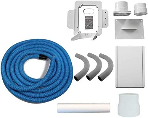 Hide A Hose Our Virginia Beach Mall shop OFFers the best service Central Vacuum White Inlet 50 Kit with Foot