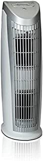 Alen T500 Tower Air Purifier with HEPA-Pure Filter for Allergies and Dust (Silver and White, 1-Pack)