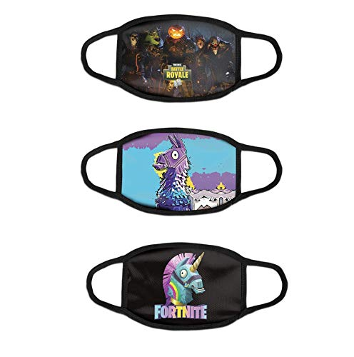 Outdoor Youths Fortnite Face Mask Cloth Dust Protection Bandanas Balaclava E