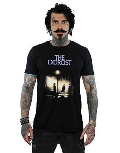 The Exorcist Herren Classic Poster T-Shirt Medium Schwarz