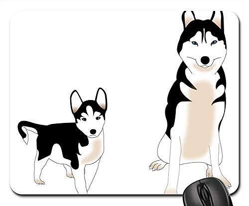 Gaming-Mauspads, Mauspad, Hund Siberian Husky Welpen Freund Animal Nordic