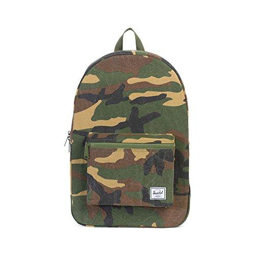 Herschel Packable Daypack Rucksack, grün, OneSize