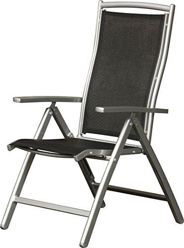 IB Style - Premium Fauteuil à dossier haut chaise pliante de 7 Pos. \