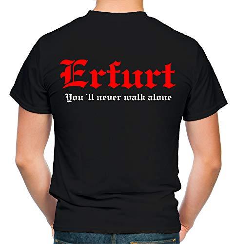 Erfurt Kranz T-Shirt | Liga | Trikot | Fanshirt | Bundes | M2 (XL)